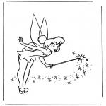 Personaggi di fumetti - Tinkerbell 2