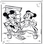 Personaggi di fumetti - Topolino e Minnie