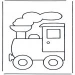 Disegni per i piccini - Treno