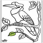 Disegni da colorare Animali - Tucano