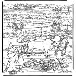Disegni biblici da colorare - Una nuova terra 2