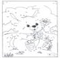 Unisci i puntini - Coniglio 1