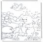 Unisci i puntini - Coniglio 3