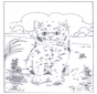 Unisci i puntini - gatto 2