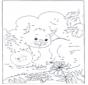 Unisci i puntini - gatto 3