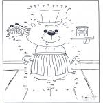 Lavori manuali - Unisci i puntini - Ursidi 1