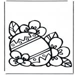 Disegni da colorare Temi - Uovo di Pasqua 3