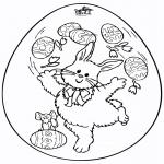 Disegni da colorare Temi - Uovo di Pasqua 7