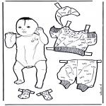 Lavori manuali - Vesti il bebè