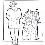 Lavori manuali - Vesti la nonna