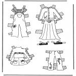 Lavori manuali - Vestiti per pupazzo da vestire 3