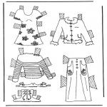 Lavori manuali - Vestiti per pupazzo da vestire 6