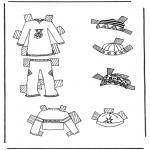Lavori manuali - Vestiti per pupazzo da vestire 7