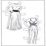 Lavori manuali - Vestiti - pupazzo da vestire 1