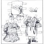 Lavori manuali - Vestiti - pupazzo da vestire 2