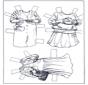 Vestiti - pupazzo da vestire 3