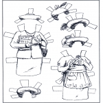 Lavori manuali - Vestiti - pupazzo da vestire 5