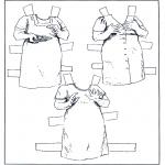 Lavori manuali - Vestiti - pupazzo da vestire 6
