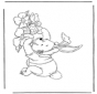 Winnie the Pooh lepre di Pasqua