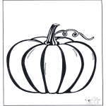 Disegni da colorare Temi - Zucca di halloween